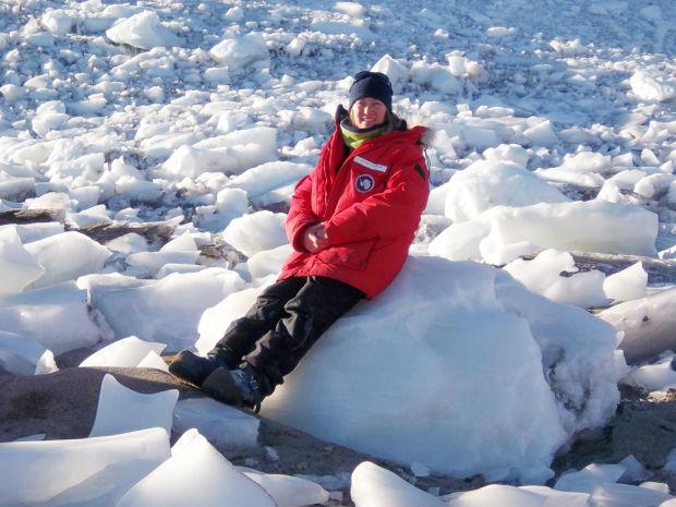 LVR at Blue Glacier Antarctica sm.jpg