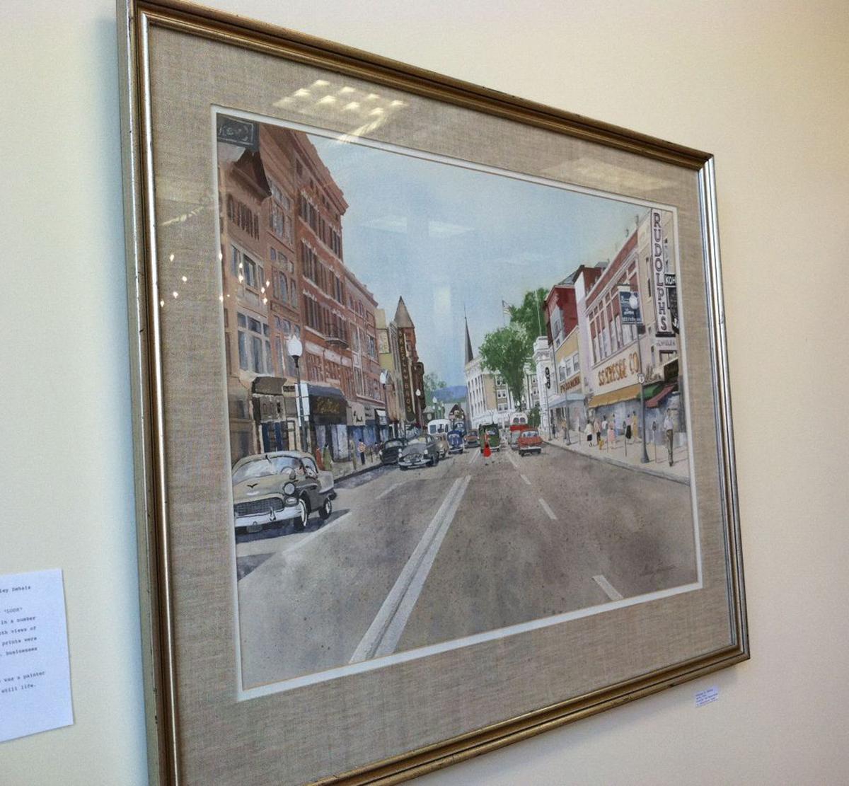 Shirley Patton painting