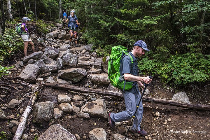 Algonquin Mountain trail