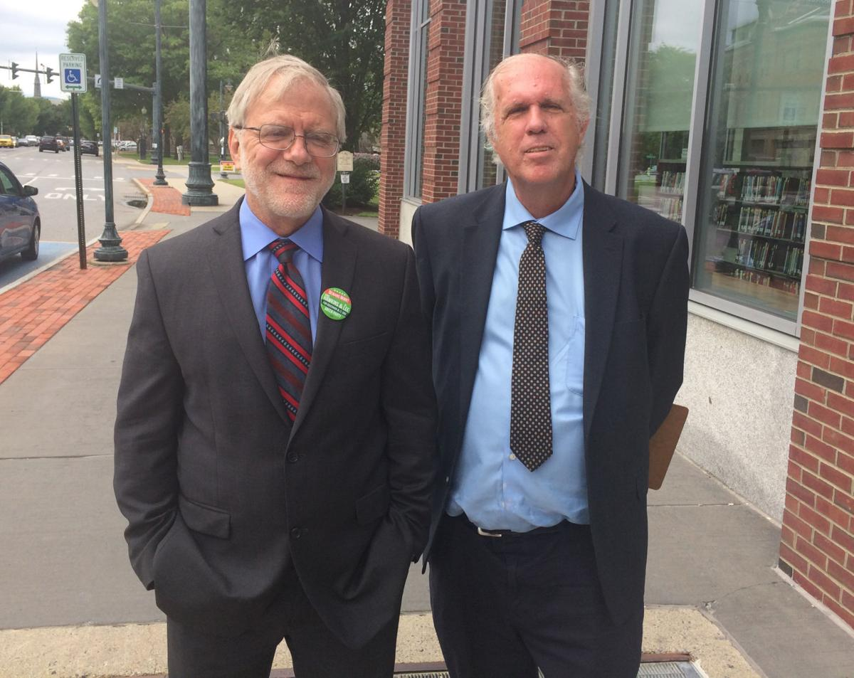 Green Party candidates stop in Glens Falls