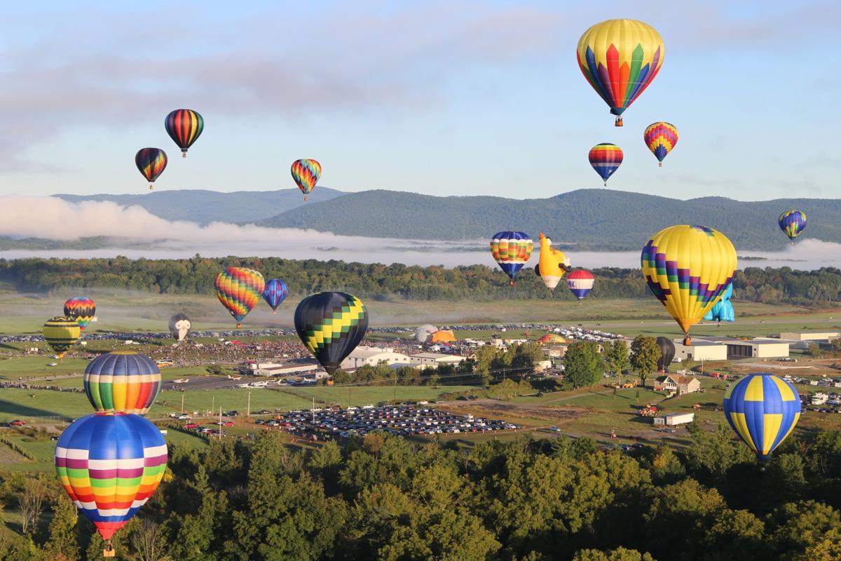 Adirondack Balloon Festival, Sunday