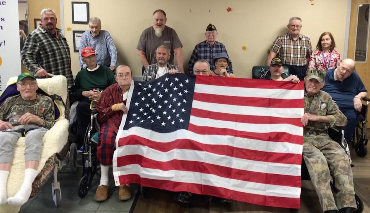 Slate Valley Center salutes its veterans