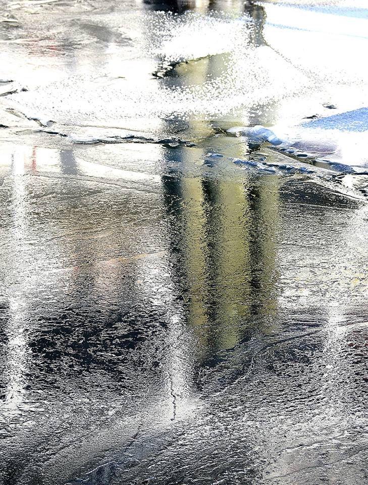 Frozen 5 Lake George by Stephanie Gabris