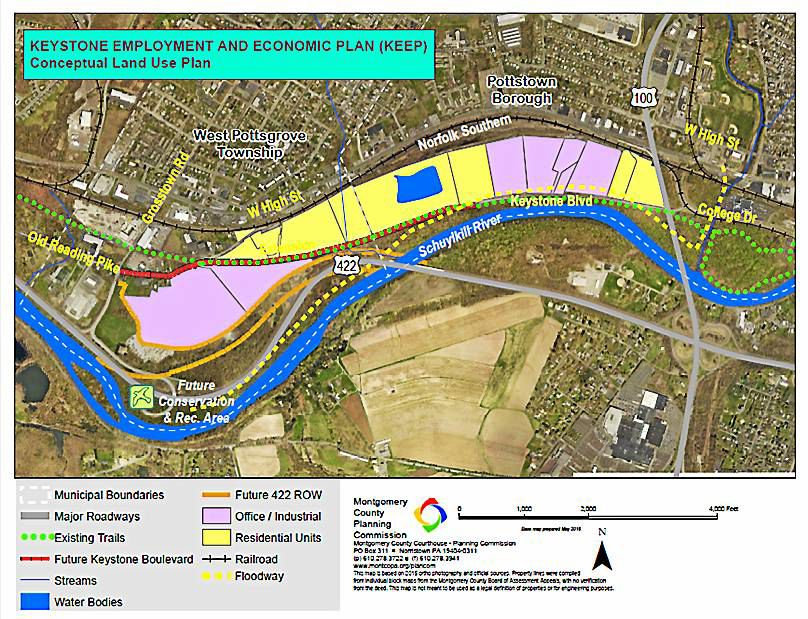 West Pottsgrove agrees to work with Pottstown to develop riverfront