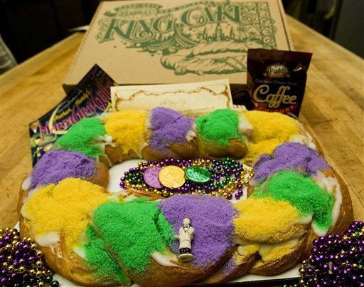 New Orleans in your home: Mardi Gras party