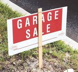 Some yard sale tips for shoppers and sellers