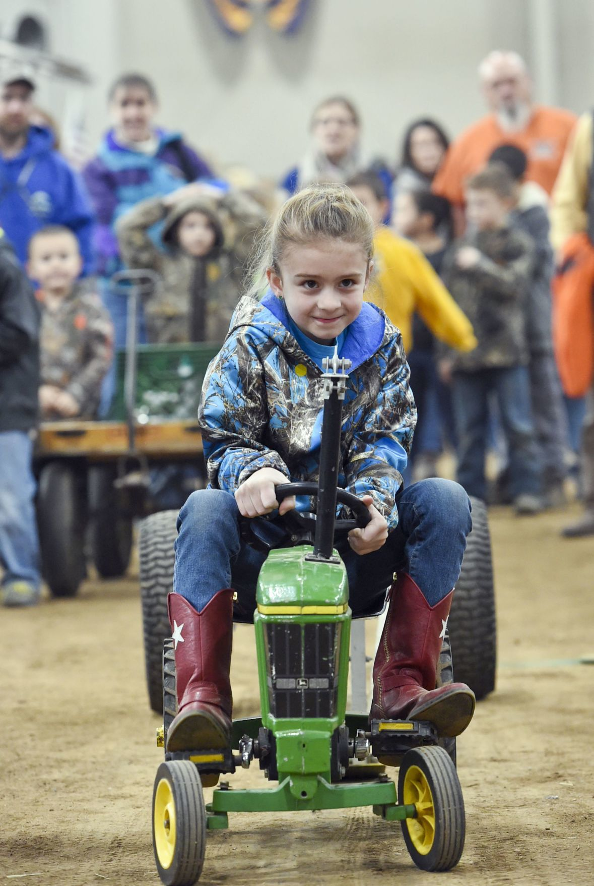 Farm Show 2019 Youth Pedal Tractor Pull Thursday Story Art