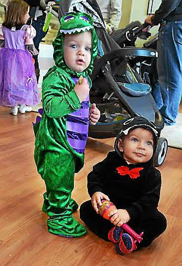 Kids participate in downtown Pottstown's Safe Trick or Treat event
