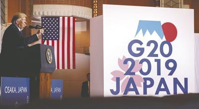 Osaka meeting G20