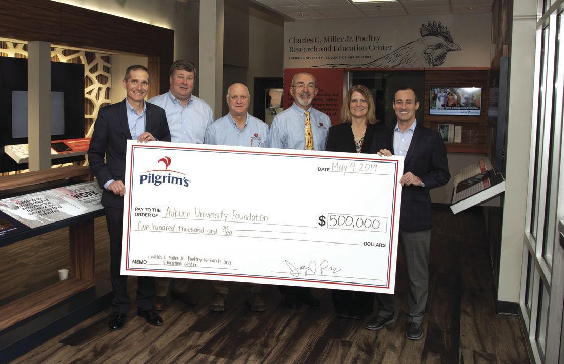 Auburn University names Pilgrim's Education Classroom