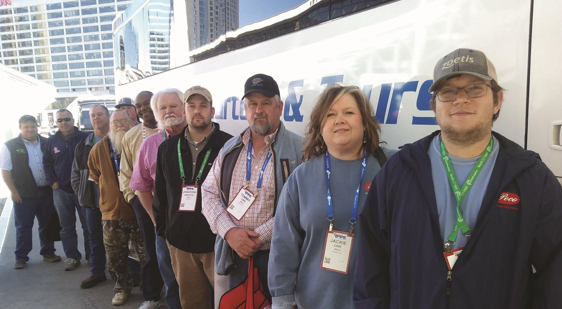 2020 IPPE offers free bus service to field operations