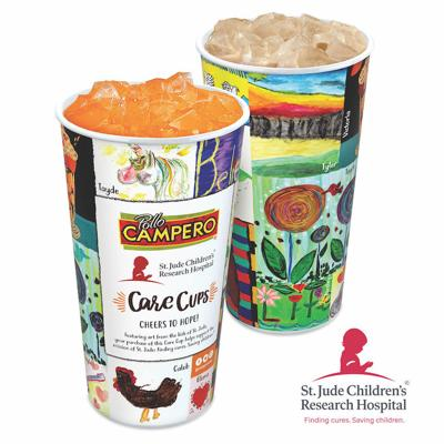 Pollo Campero and St Jude Collectible Cup
