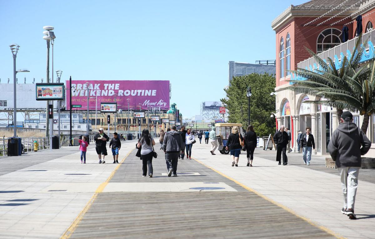 Weather on The AC Boardwalk