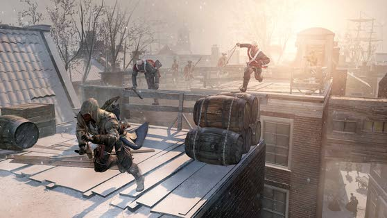'Assassin's Creed III' plays patriot games