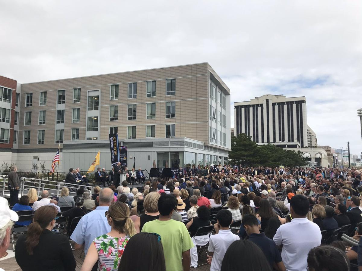 Stockton Atlantic City campus ribbon cutting