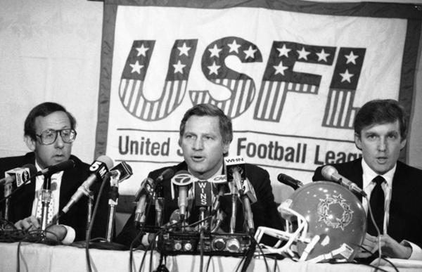 Donald Trump and the USFL