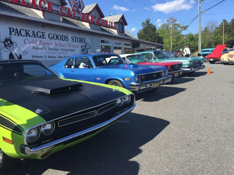 Classic Cars Cruise The Cat In Absecon PleasantvilleAbsecon - Classic car cruise