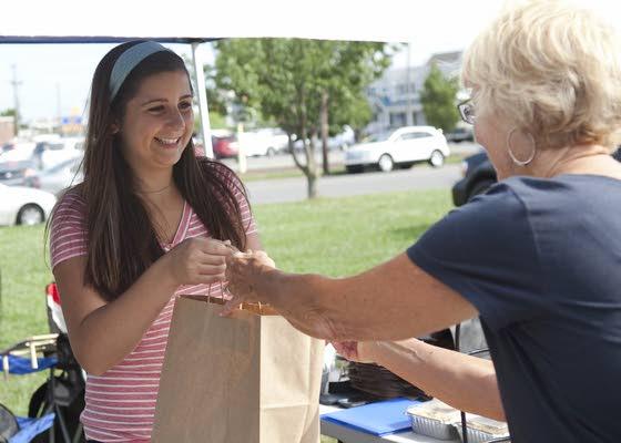 Ocean City teen creates Pie Girl  as fundraiser for God's Kitchen