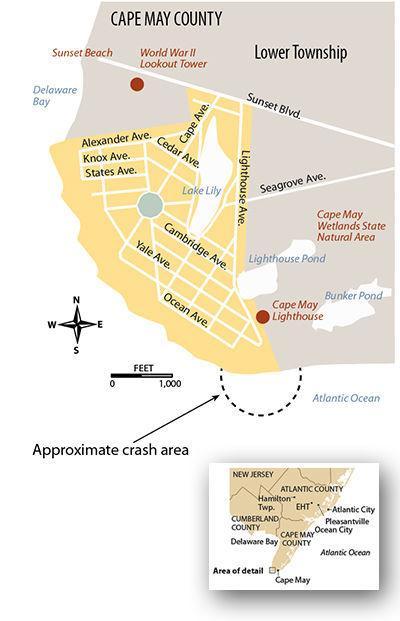 Cape May Point plane crash 5-29-2019