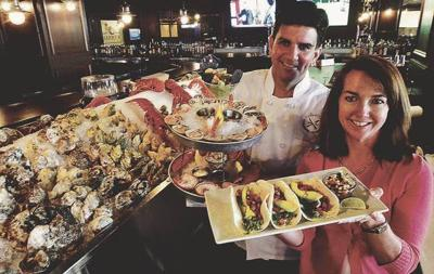 Bringing Seafood to A.C.Harry's Oyster Bar & Seafood at Bally's hits the spot