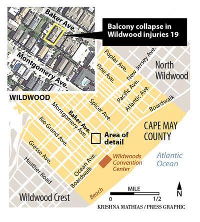 Wildwood balcony map 9-2019