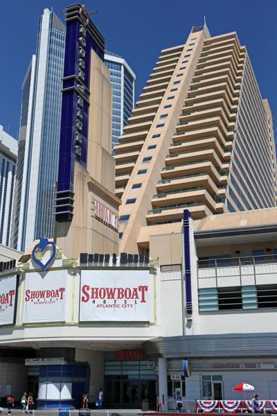 Showboat Hotel in Atlantic City