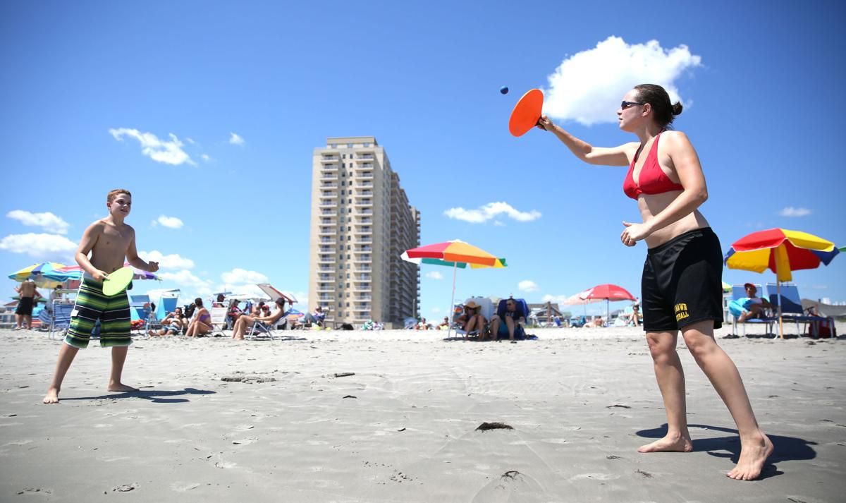 What beach games are people playing in South Jersey this ...