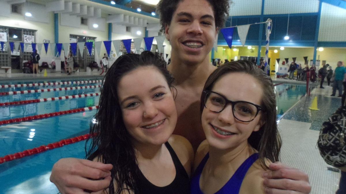 SEEN at the Cedar Creek vs. Oakcrest swim meet