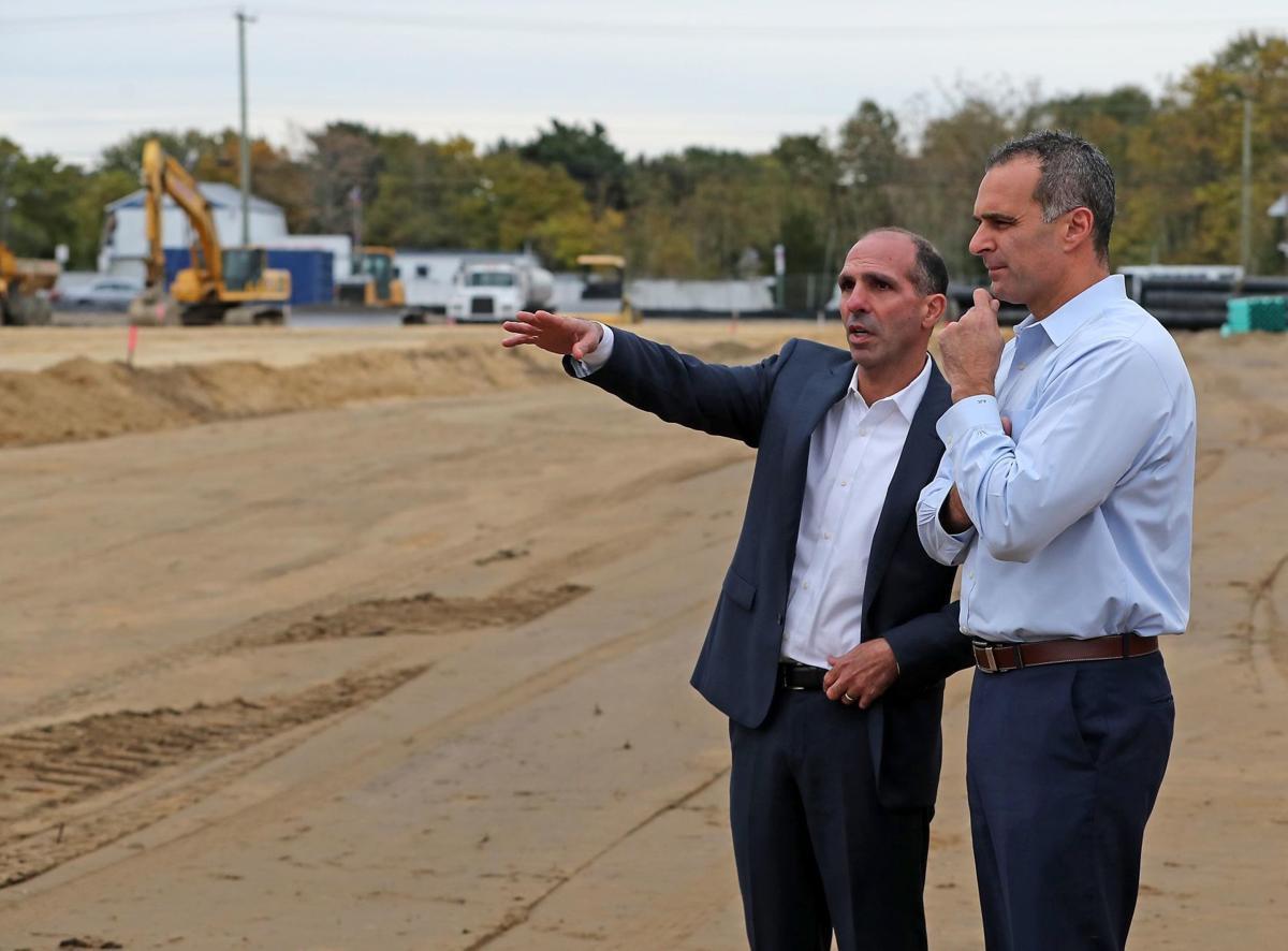 Mayor Anthony Coppola at Heritage Village Construction