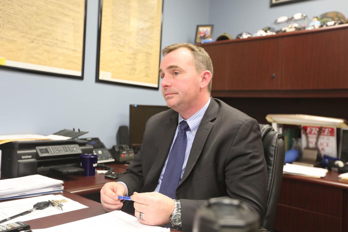 Pleasantville police Chief Sean Riggin
