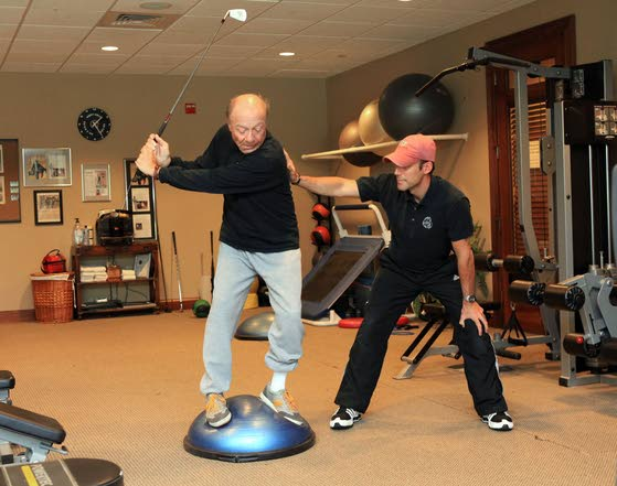 Balance Out Your SwingInstructor adds more than strength to your repertoire
