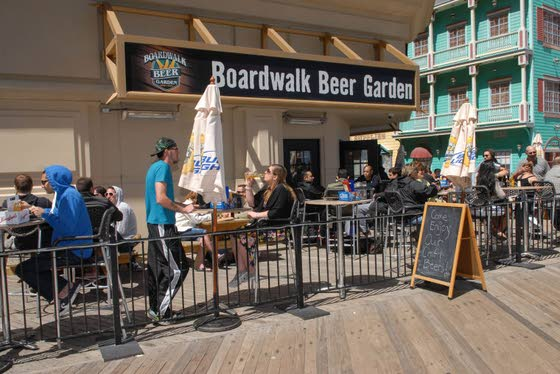 Five things you need to know about Boardwalk Beer Garden