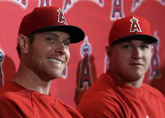 Angels excited for Hamilton, Pujols, Trout together
