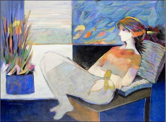 Hessam Abrishami Joy of Blue