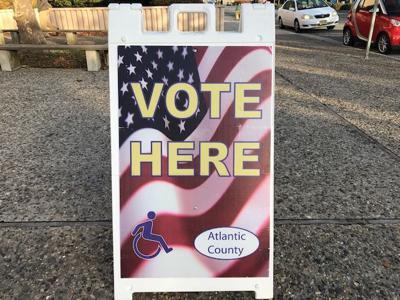 Atlantic City MLK vote sign