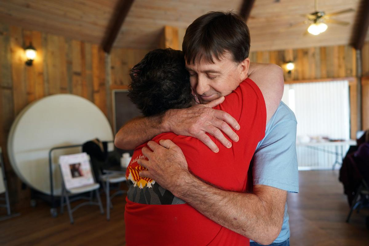 Donor's mother meets heart recipient for the first time