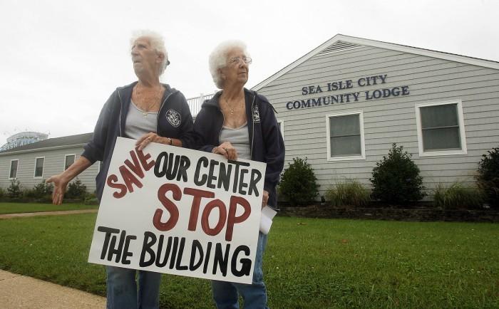 Sea Isle Protest