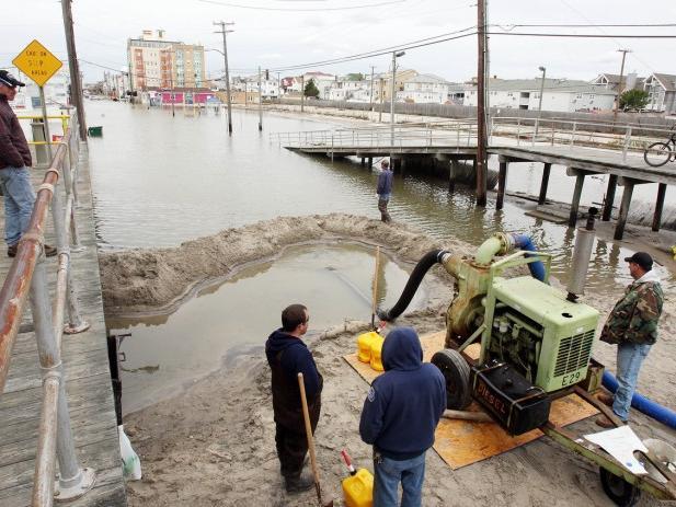 Sandy Aftermath Ocean City,  Nov 1, 2012