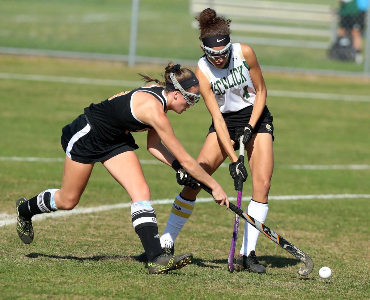 Middle Township vs Schalick field hockey game