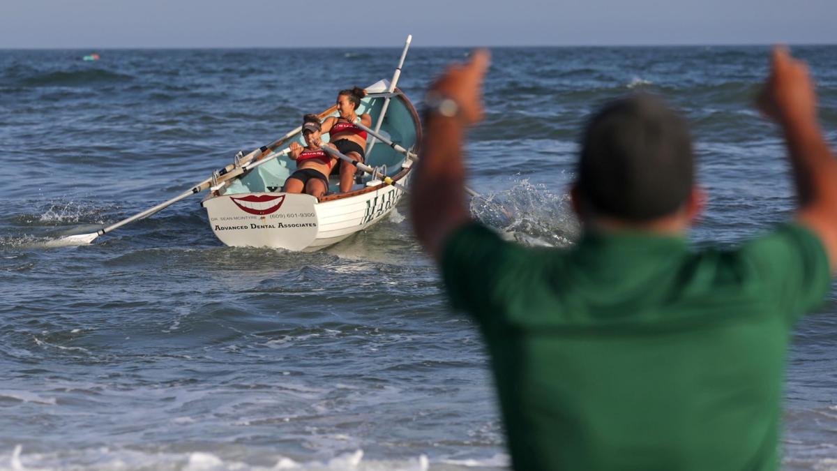 Longport's Lifeguard Invitational races