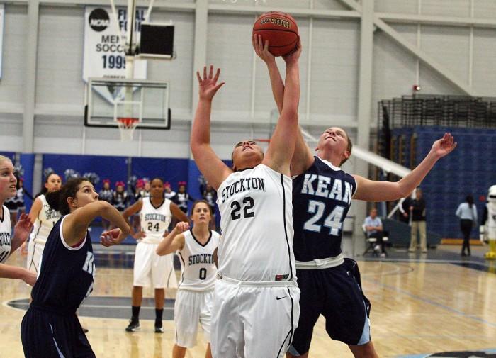 stockton women's basketball