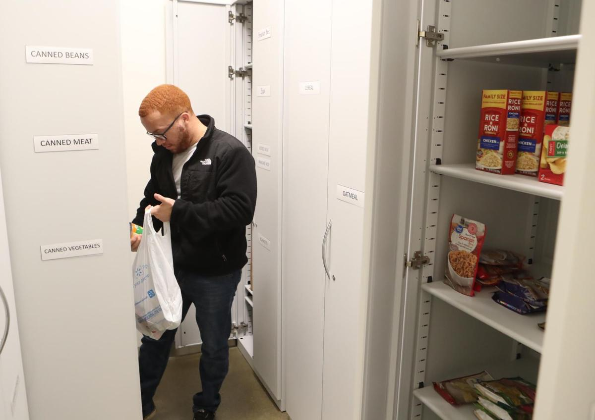 Food pantry for students at Stockton Atlantic City
