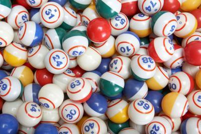 Colored Bingo Balls