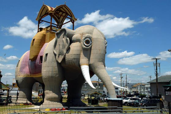 This elephant is worth a family visit to Margate
