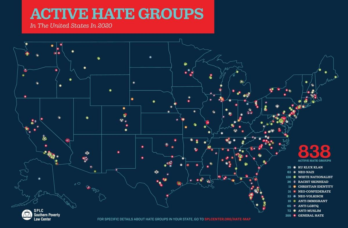 Southern Poverty Law Center 2020 Year in Hate
