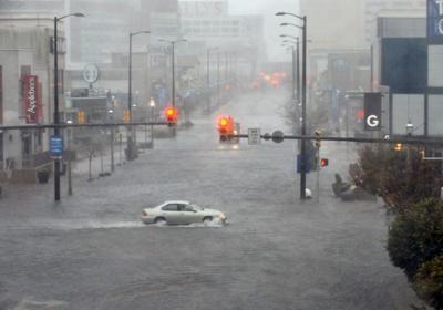 Hurricane Sandy Atlantic