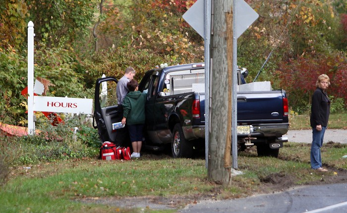 Man released from hospital following Route 9 accident at