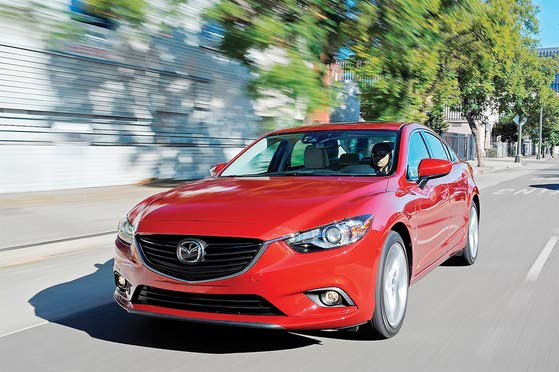 2014 Mazda6: Slippery Skin, Skyactiv Engineering