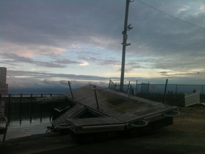 Pleasantville Yacht Club dock
