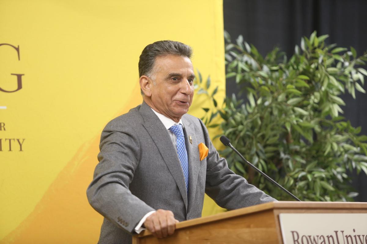 Rowan University President Ali A. Houshmand